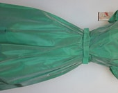 Gorgeous Vintage Iridescent Mint Green Party Dress