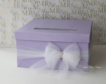 Wedding Card Box Money Holder - Customize with your Choice of Color