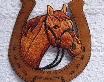 EQUESTRIAN-HORSE -iron on applique