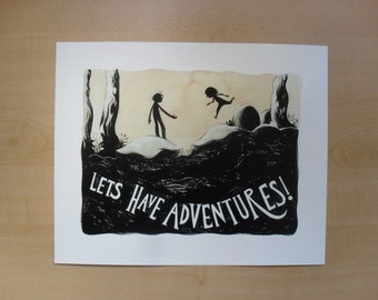 Adventures Print