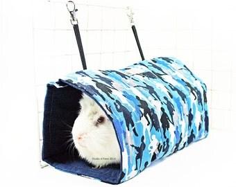 Blue Camo Tunnel Tent