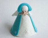 Felt angel ornament / figurine
