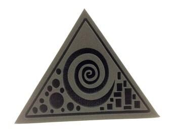 Modern Triangle Foam Stamp