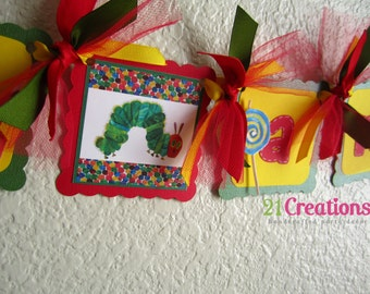 Hungry Caterpillar High Chair Banner