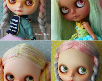 Anniedollz OOAK Blythe Faceup Customization for your doll