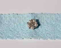 Bridal Garter - Something Blue Bridal Garter  - Special Offer for Limited Time ONLY 30% Off