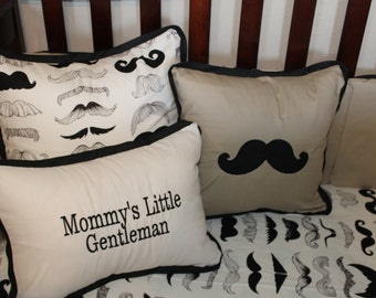 Custom Listing- 12x16 Pillow Cover, Mommy's Little Gentleman