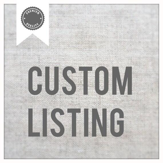 Custom Listing for Ivy