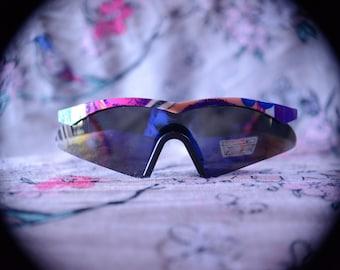 80s-90s Deadstock Funky Ski Snow Sport Sunglasses
