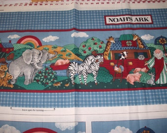 cloth storybook panel to make-Noah's Ark