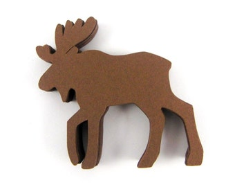 Moose Paper Cut Outs set of 25
