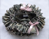 Parley Ray Daddy's Girl Welcome Home Pink Army ACU All Around Ruffled Skirt Baby Bloomers Military