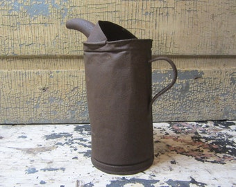 Heavily Rusted Antique Spouted Oil Can Farm Barn Artifact Rust Holes Lots of Character Great for Primitive Display Early 1900s Rustic Gem
