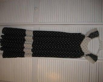 PRAIRIE DRESS Peasant Dress 70s Dress Country Dress  Western Dress Square Dance Dress Hippie Dress,, Halloween Outfit