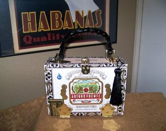 Arturo Fuente Cigar Box Purse