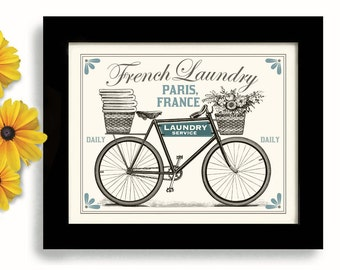 Laundry Room Decor French Laundry Kitchen Art Sign Wall