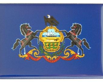 Pennsylvania State Flag Fridge Magnet