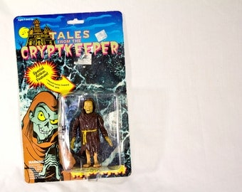 Cryptkeeper action figure - 90s Tales From The Crypt small doll NIB Halloween MOC
