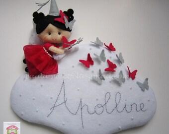 Butterflies Fairy on Cloud Sign