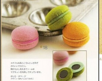 Felt Sweets PDF Patterns, Free Shipping, Kawaii Ebook No.29