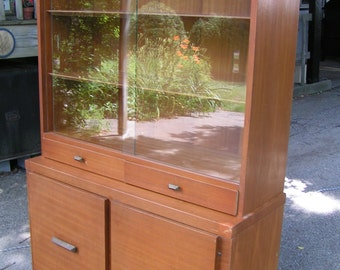 Pick Up Only CT 50s 60s DANISH MODERN Teak or Blonde Mahogany Dinning Room Set in Need of Restoration