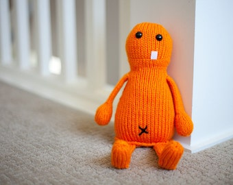 Claude the Knit Monster Toy