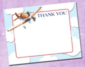 Planes Thank You Card