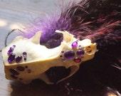 Purple Goth Cabaret Fascinator