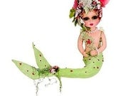 Sherri Baldy My Besties Susie Sea Horse Bestie GREEN Mermaid Doll By Sherri Baldy
