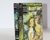 Vintage 1940s Beverly Gray Mystery Adventure Series Childrens Book Bundle Childrens Room Decoration