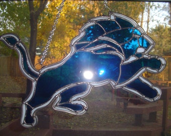 Detriot Lions suncatcher