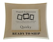 READY TO SHIP - 3x3 Quirky -  unfinished picture frame