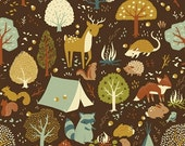 Fort Firefly - Critter Camp - Teagan White for Birch Organic Fabrics - 1 yard, Additional Available