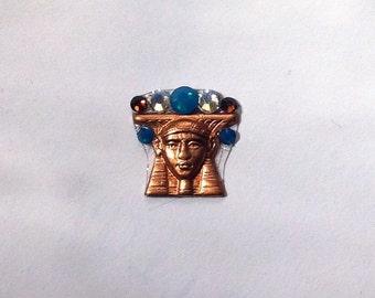 Copper Pharaoh Swarovski Crystal Bindi