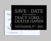 Save the Date Postcard - Printable & Customizable