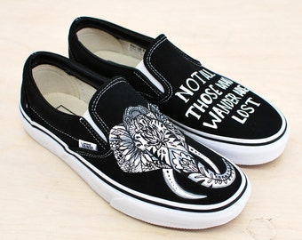 Hand Painted Elephant Vans