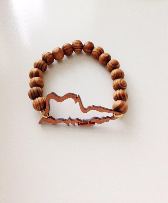 st croix silhouette bracelet by laurenbrie on etsy
