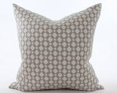 "PAIR of Schumacher Betwixt Pillow Covers 22"" Stone"