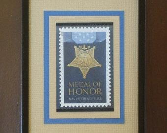 Navy Medal of Honor Framed Forever Stamp - No. 4822