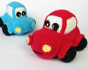 Happy Car - Amigurumi Crochet Pattern / PDF e-Book / Soft Toy Tutorial