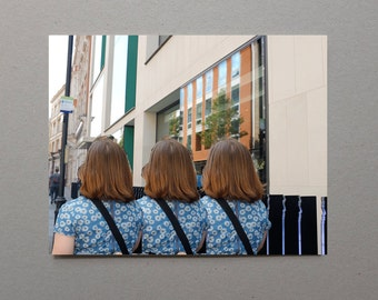 3 Ladies - Glitch 2014 Streets Of Soho Art Lover Digital Surreal Photography A Different World Art Student Wall Decor Surprise Gift Teacher
