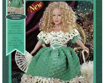 Lovely Lady Doll Crochet Pattern Fibre Craft FCM484