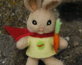 Peter Rabbit - Easter Bunny - Felted toy