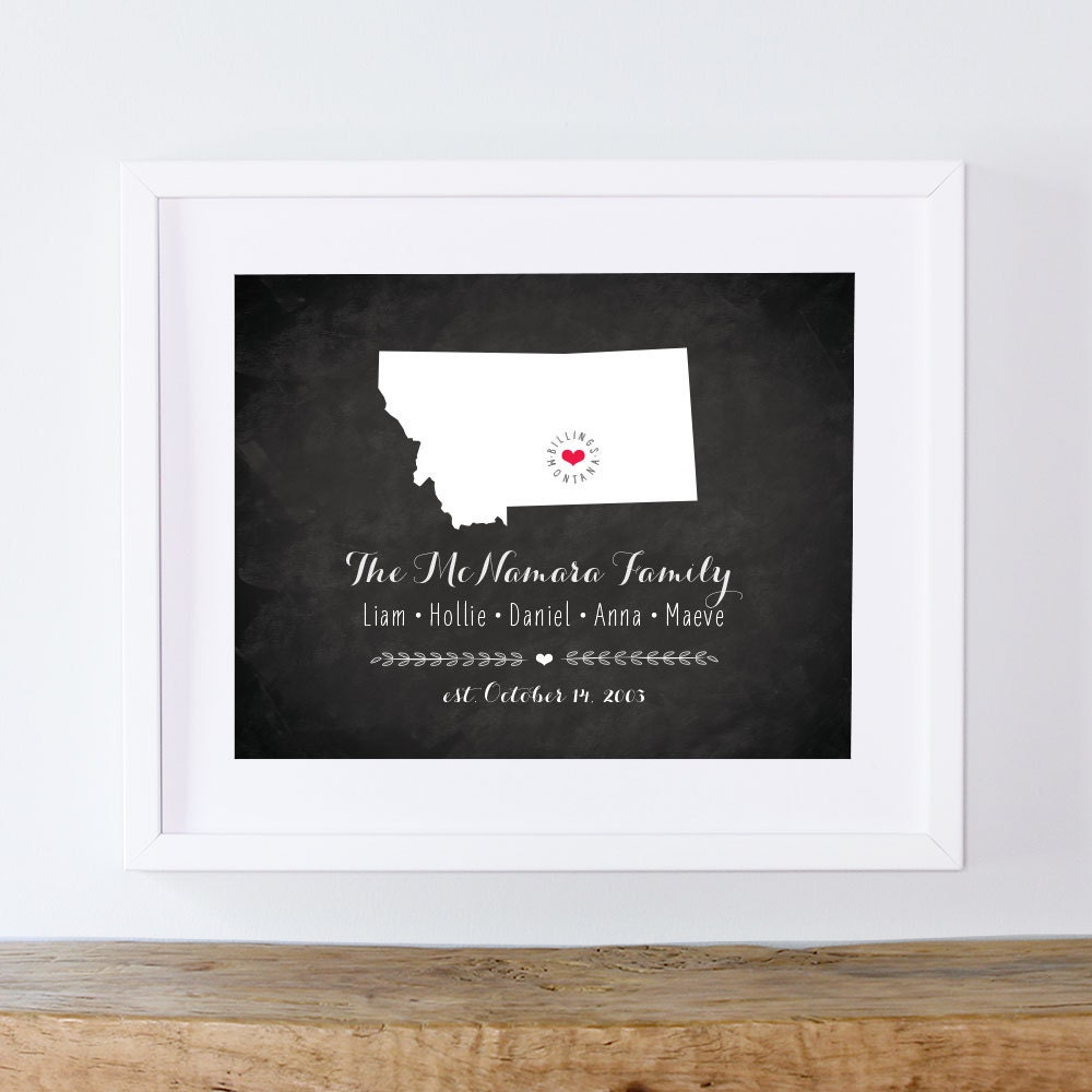 Personalized Housewarming Gift Unique By Earlybirdink On Etsy