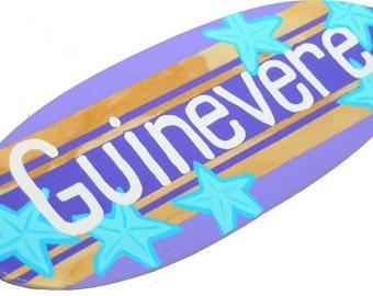 Surfer Girl Room Decor, Personalized Teen Girls Bedroom Decor, Custom Surf Girl Wall Art, Surfer Girl Art, Surfer Girl Room, Pre Teen Girl
