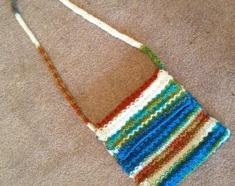 Earth Mama Knitted Envelope Boho Purse