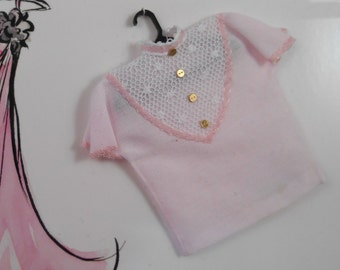 "1"" Scale Blouse for Your Dollhouse Scene"