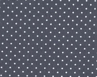 Pinhead in Gray - Basics - Michael Miller Fabrics - 1 Yard