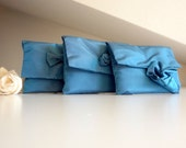 Blue bridesmaid clutch perfect wedding gift
