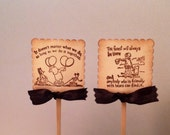Winnie the Pooh Cupcake Topper-Pooh Cupcake Picks-Hundred acre wood-Wedding cake toppers-set of 12